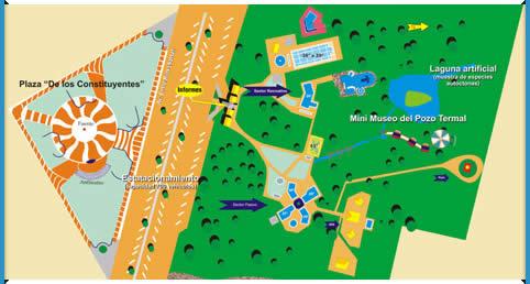 Plano de las termas de federacion entre rios turismo for Planos de piletas de natacion